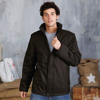 Detachable Sleeve Blouson Jacket