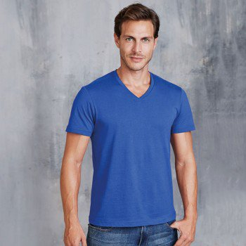 Mens Short Sleeved V-Neck T-Shirt