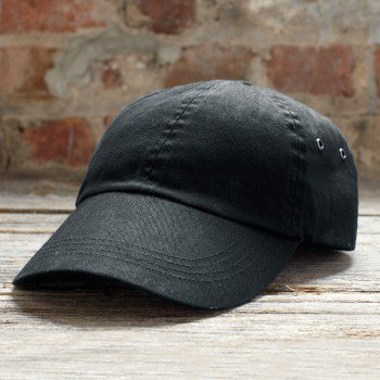 Solid Low Profile Twill Cap