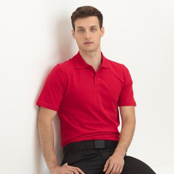 Mens Stretch Polo Shirt