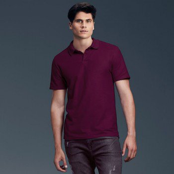 Adult Double Pique Polo