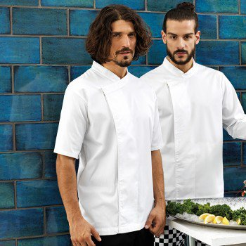 Culinary Pull-on Chefs Short Sleeve Tunic