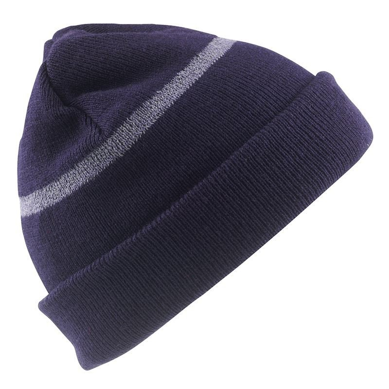 RESULT HEADWEAR Junior Thinsulate Hat With Reflective Woven Band ... a9bbc5d7b04