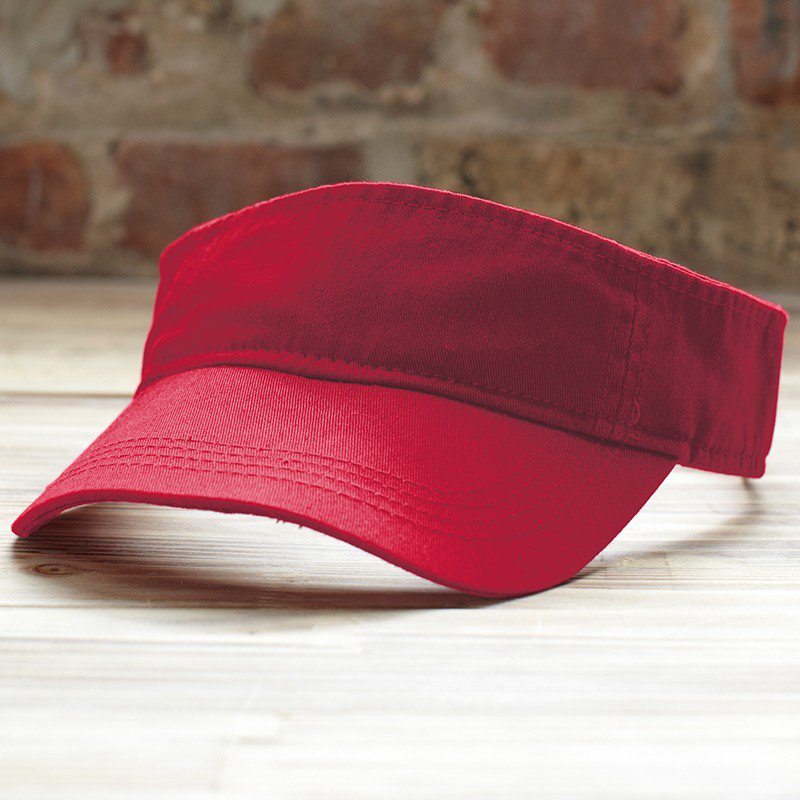be2bbc5f Anvil Knitwear Solid Low Profile Twill Visor (AV703) 158