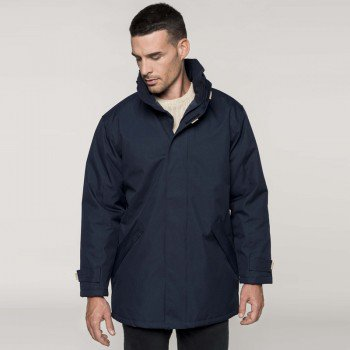 Mens Quilted Parka